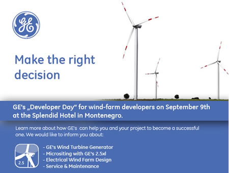 GE developers day in Montenegro
